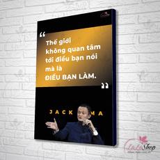 10 Câu nói truyền cảm hứng hay nhất của Jack Ma
