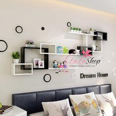 Kệ trang trí phòng ngủ TTPN02