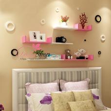 Kệ trang trí phòng ngủ TTPN04