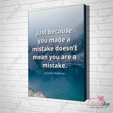 Tranh văn phòng doesn't mean you are a mistake