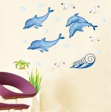 Đàn cá heo xanh