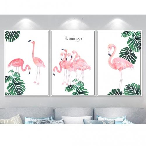 Tranh treo tường đàn hồng hạc