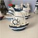 Thuyền gỗ biển