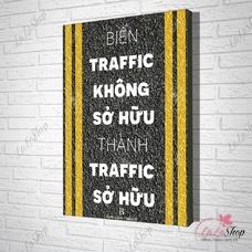 Tranh treo tường biến traffic không sở hữu thành traffic sở hữu