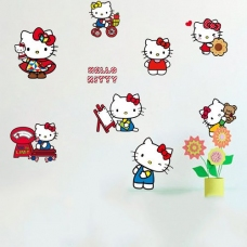 Decal Hello kitty limit