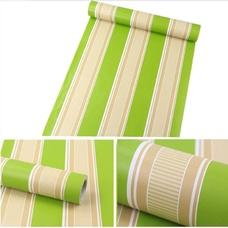 Giấy decal cuộn sọc xanh lá
