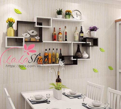 Kệ trang trí phòng ăn TTPA01