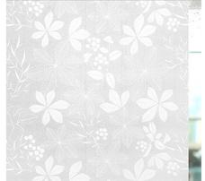 Decal cuộn kính mờ lá trắng 2 khổ 0,9m