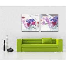 Tranh treo tường bình hoa lavender