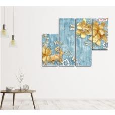 Tranh treo tường hoa đính đá 3D