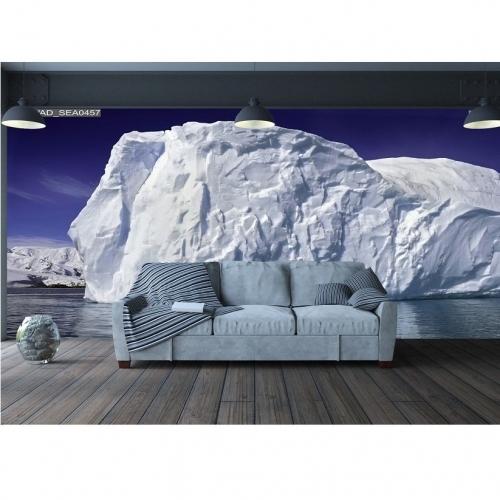 Tranh dán tường băng tuyết