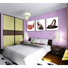 Tranh treo tường giầy cao gót nghệ thuật 2