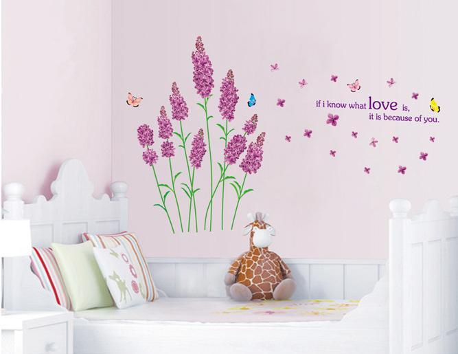 Decal dán tường cho từng phòng đẹp nhất