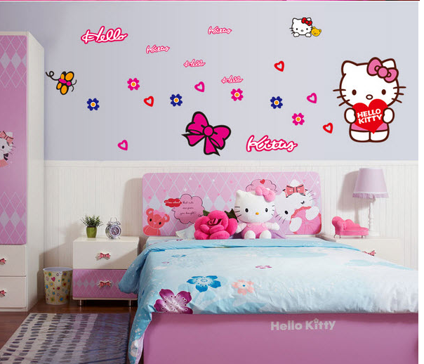 Hello kitty 1 decal d n t ng for 7 year old bedroom ideas